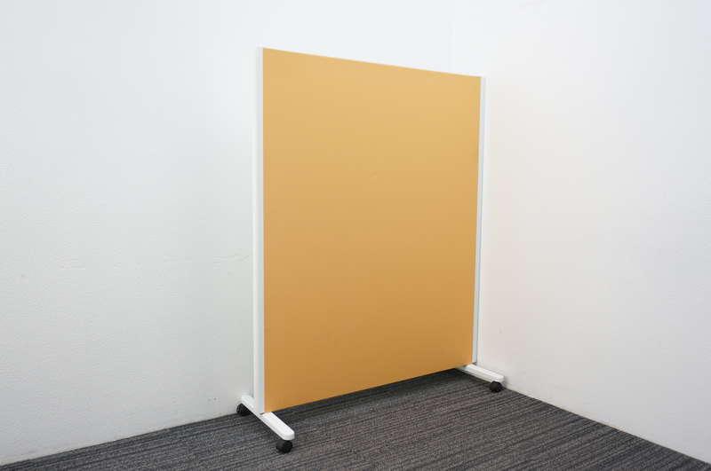 コクヨ パネルスクリーン 1連タイプ 片面ホワイトボード W1230 D455 H1500 オレンジ
