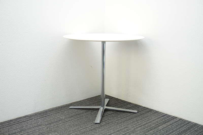 ウィルクハーン エーラインテーブル Φ750 H730 ホワイト