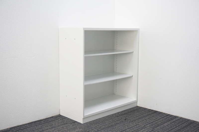 コクヨ エディア オープン書庫 W900 D400 H980 ホワイト