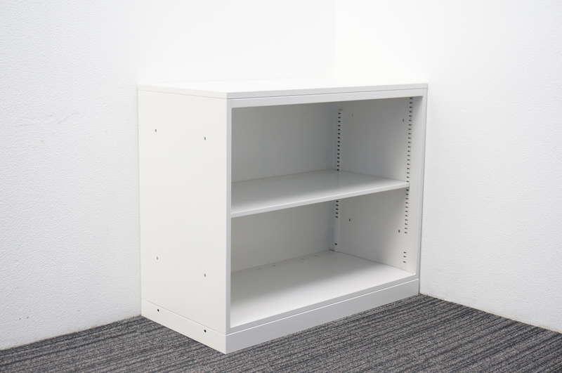 イトーキ エス オープン書庫 天板付 H772 W9色