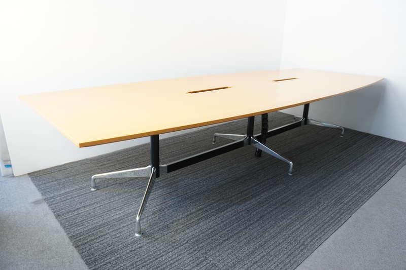 ハーマンミラー セグメンテッドベーステーブル W3450 D1100-1350 H710