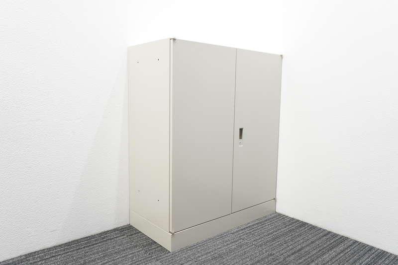 オカムラ 42 両開き書庫 10cmベース H1100