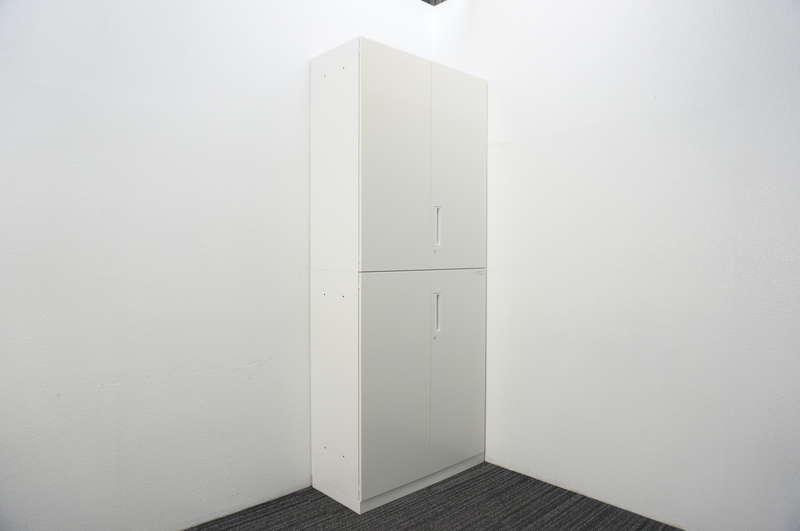 コクヨ エディア 両開き2段書庫 W900 D400 H2150
