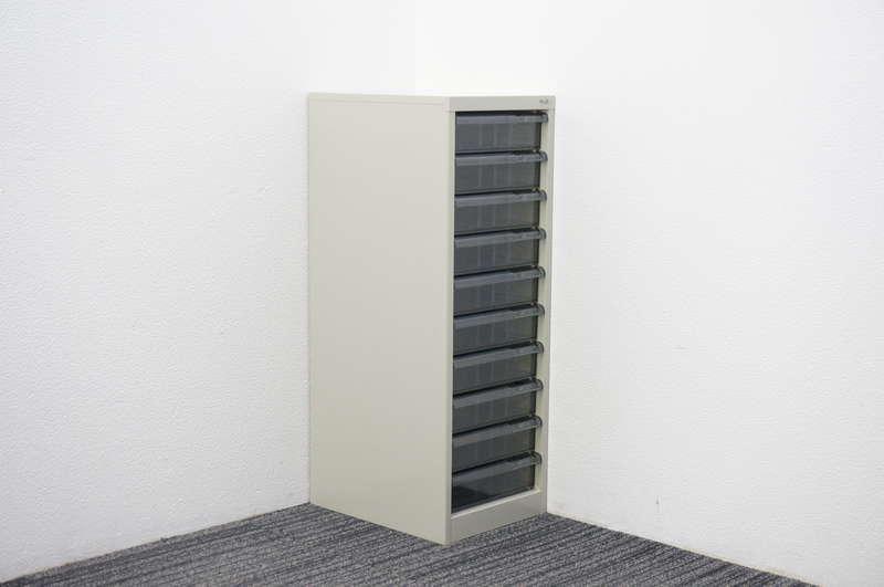 プラス 書類整理庫 1列10段 B4 W310 D400 H880
