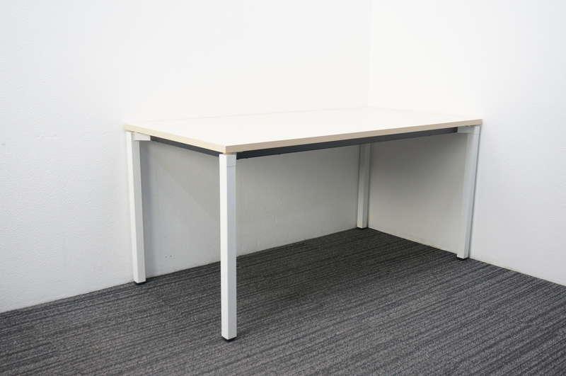 コクヨ ジュート ミーティングテーブル 1575 4本脚 H720 ホワイトナチュラル