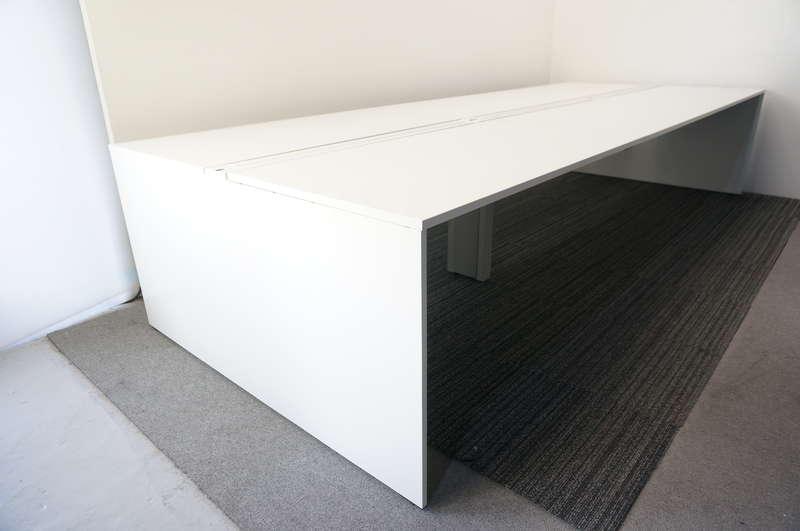イトーキ インターリンクR フリーアドレス 3614 W2400天板×2枚 W1200天板×2枚 6席分 H720 ホワイト