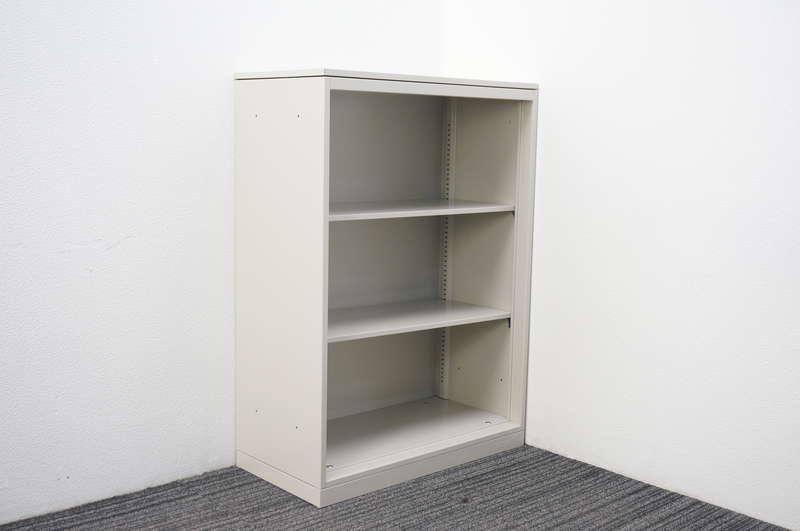 オカムラ 42-A オープン書庫 天板付 W800 D400 H1120