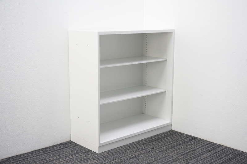 コクヨ エディア オープン書庫 配線コード仕様ベース W900 D400 H975 ホワイト