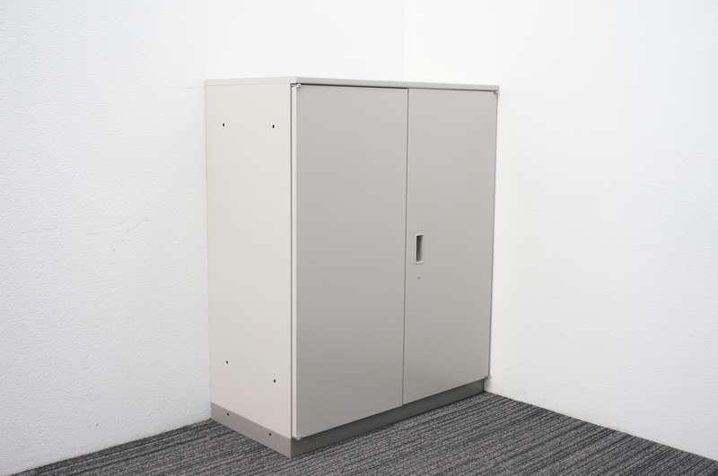イトーキ シンライン 両開き書庫 天板付 H1120 WE色