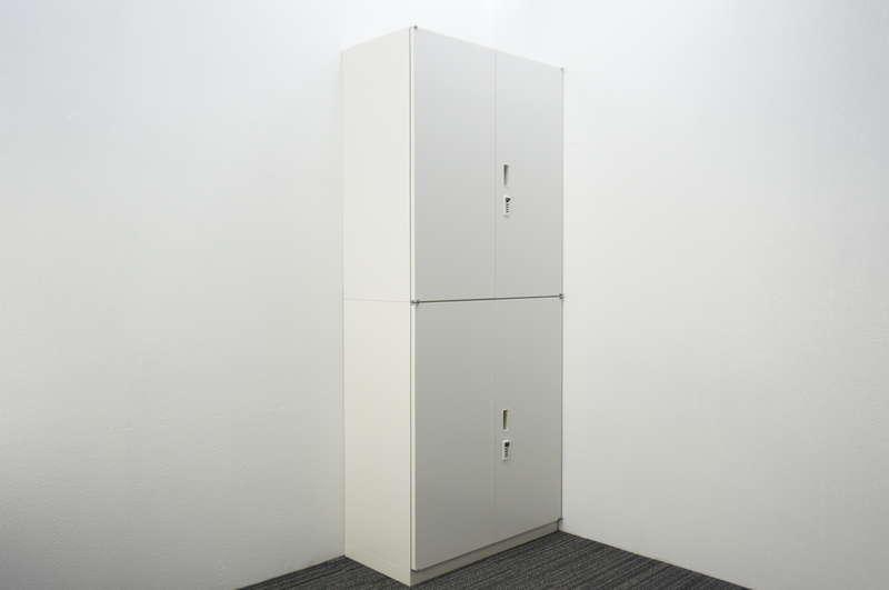 イトーキ シンライン ダイヤル式両開き2段書庫 H2140 W9