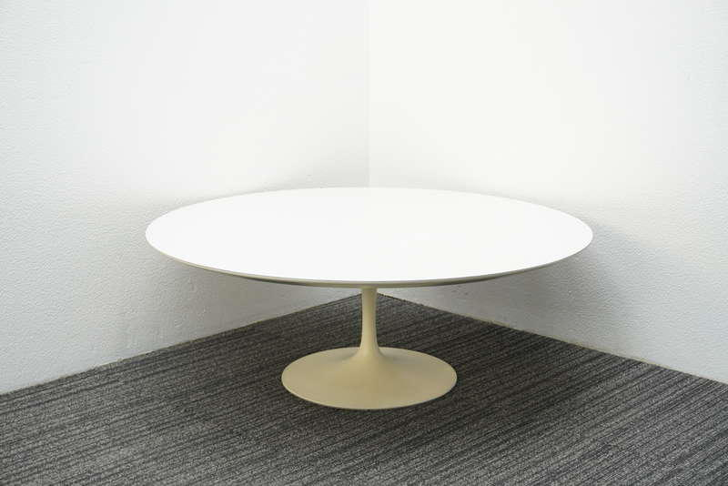 ノール(Knoll) サーリネンコレクション チューリップテーブル ローテーブル Φ1050 H380 ホワイト (1)