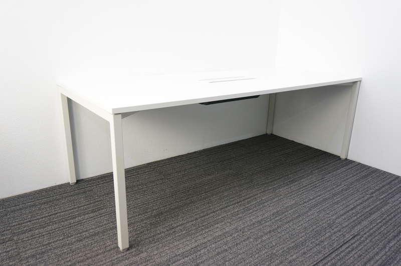 ウチダ ノティオ ミーティングテーブル 2190 ホワイト