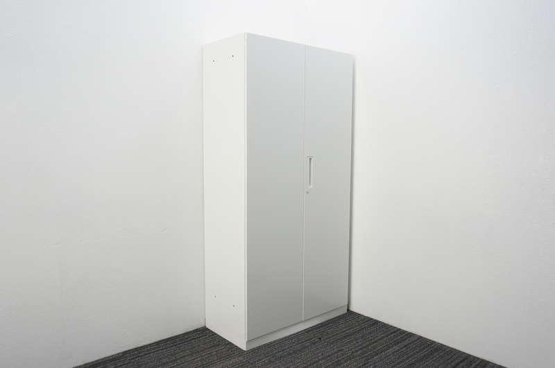 【2017年製】コクヨ エディア 両開き書庫 H1810 ホワイト