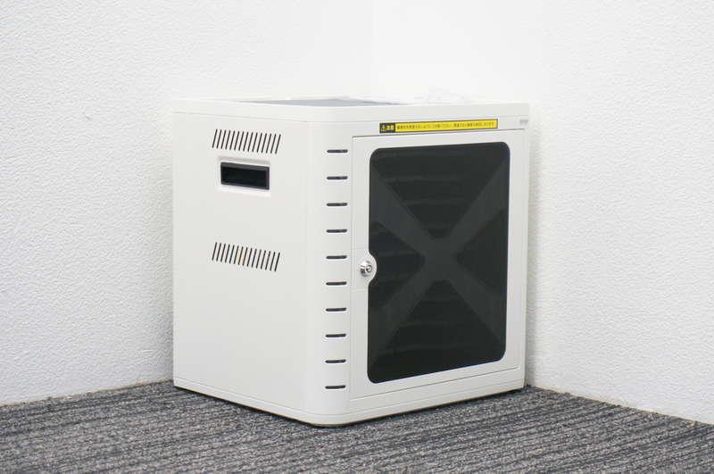 【新品】サンワサプライ CAI-CAB16W iPad・タブレット収納キャビネット(10台収納・ホワイト)
