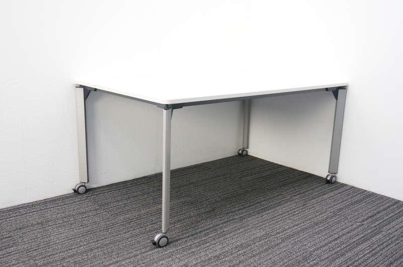 イトーキ DE ミーティングテーブル 1590 キャスター付 ホワイト