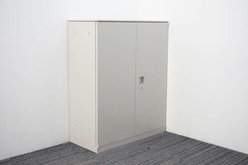 オカムラ レクトライン 両開き書庫 天板付 W900 D400 H1115 Z13色