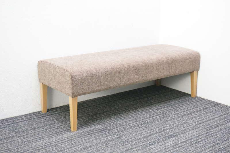 相合家具 2人用ベンチ W1200 D500 H400