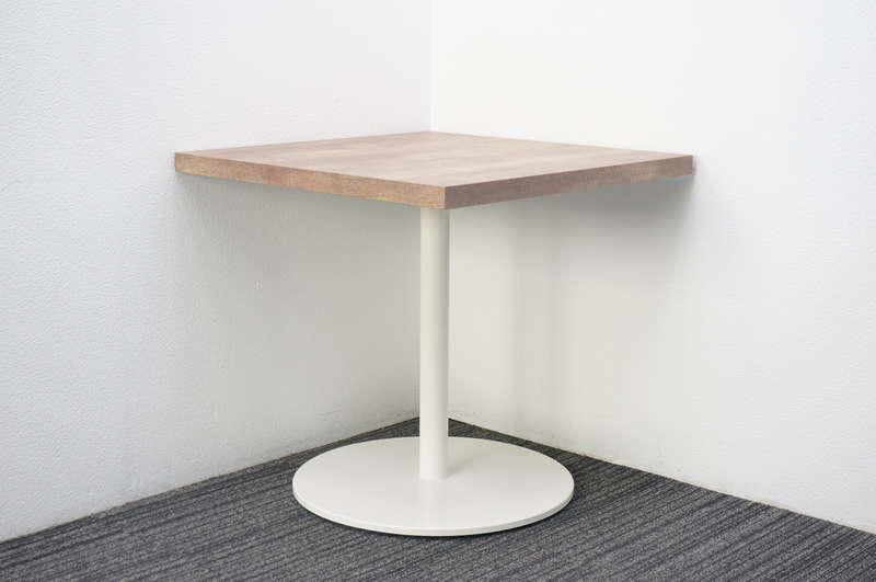 オカムラ アルトピアッツァ カフェテーブル 7575 H720 ソーンオーク