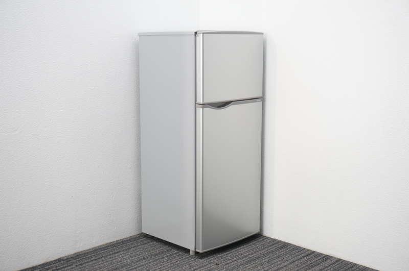 シャープ SJ-H12YS 直冷式 2ドア冷蔵庫 シルバー 2015年製