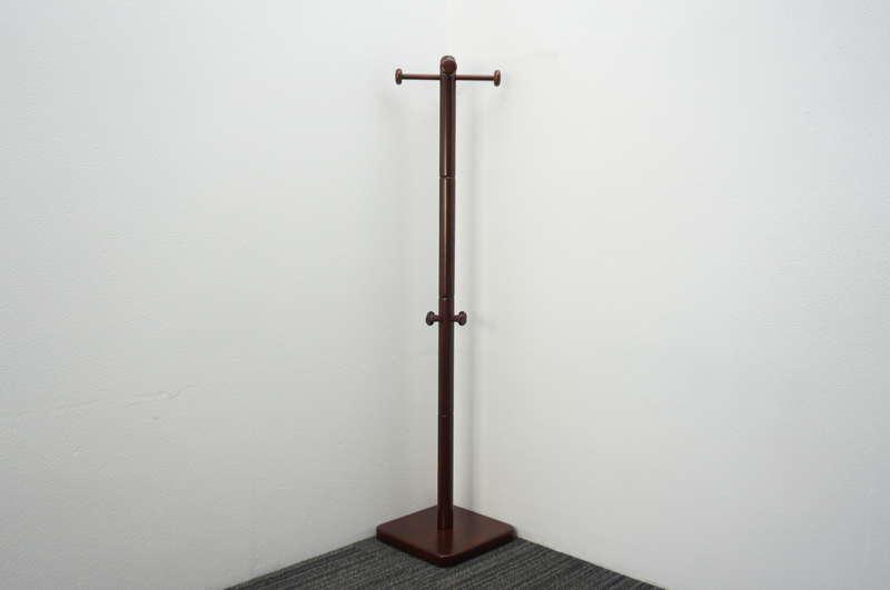 イトーキ コートハンガー 集成材支柱タイプ ローズウッド H1810