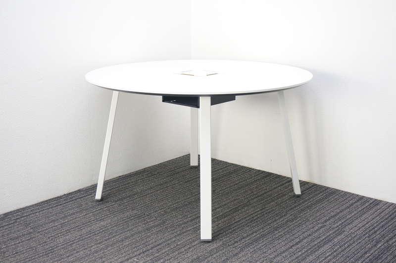 コクヨ サイビ-TX 丸テーブル Φ1200 H720 ホワイト
