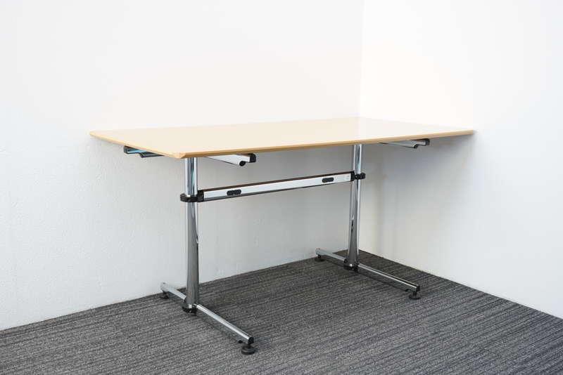 USMキトステーブル アシンメトリカル 1575 H740 ナチュラル