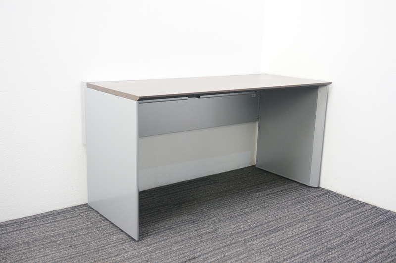 コクヨ ワークヴィスタ パーソナルテーブル 片面タイプ W1400 D620 H720 アッシュブラウン