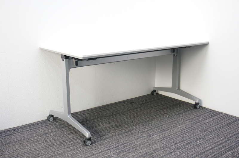 オカムラ 81F7 フラップテーブル 1575 ホワイト