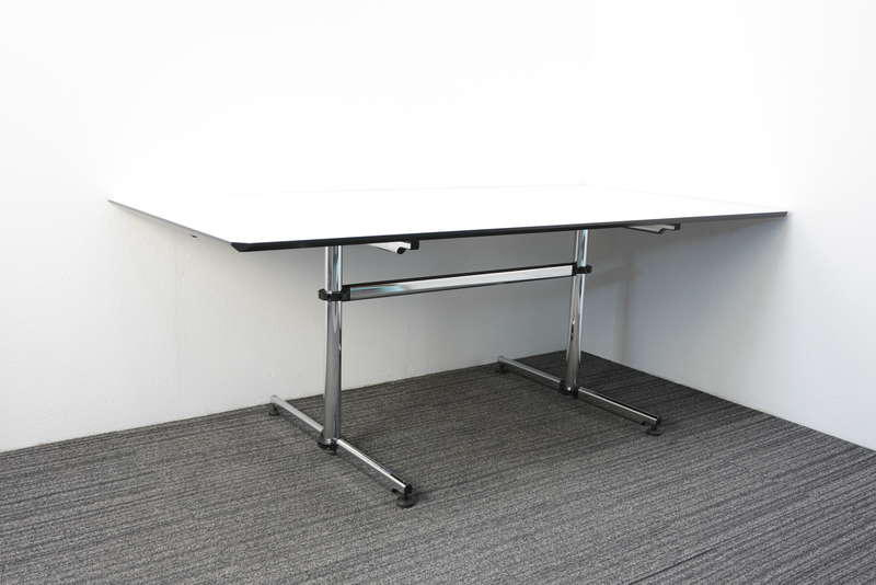 USMキトステーブル W2000 D1000 H740 ホワイト
