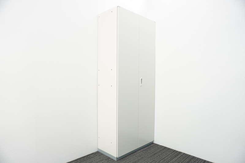 プラス LINX LX-5 両開き書庫 H2150 ホワイト