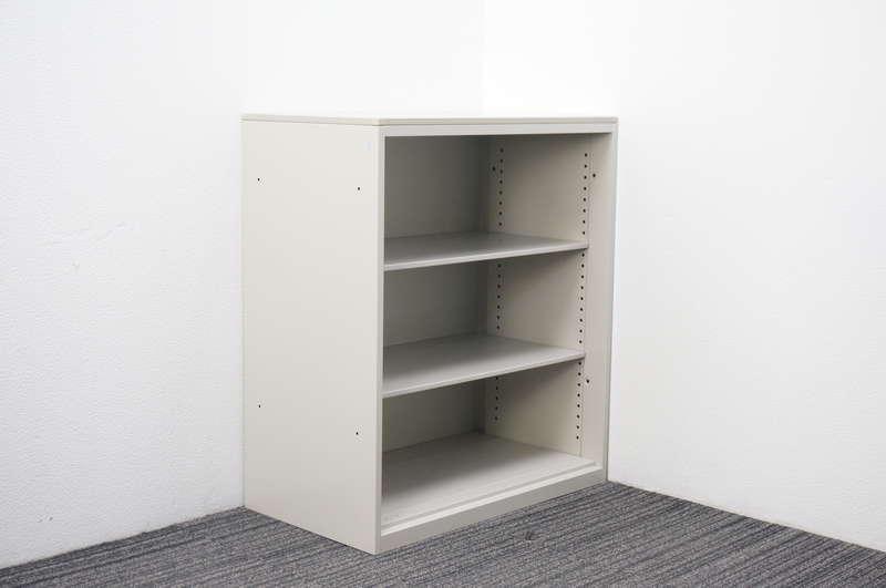 オカムラ SA オープン書庫 天板付 W800 D450 H924